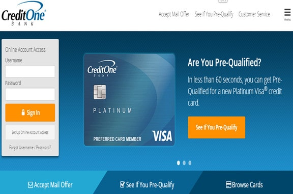 Activate A Credit One Bank card