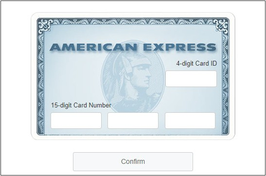 How to Confirm Your American Express Card