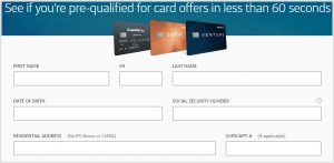 How to Prequalify for a Capital One Credit Card